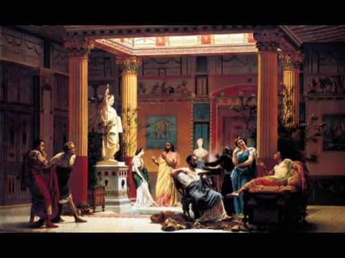 The Flute Concert by Gustave Boulanger