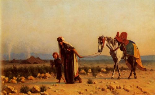 The Return by Gustave Boulanger