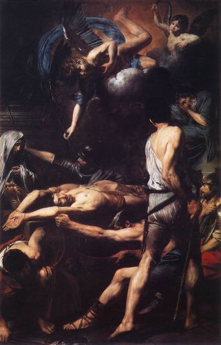 Martyrdom of St Processus and St Martinian by Valentin de Boulogne