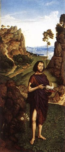St John the Baptist by Dieric the Younger Bouts