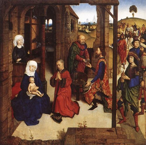 The Adoration of the Magi by Dieric the Younger Bouts