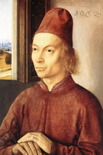 Portrait of a Man 1 by Dieric the Elder Bouts