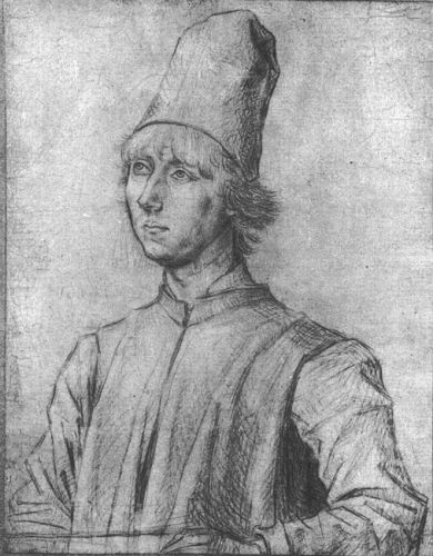 Portrait of a Man 3 by Dieric the Elder Bouts