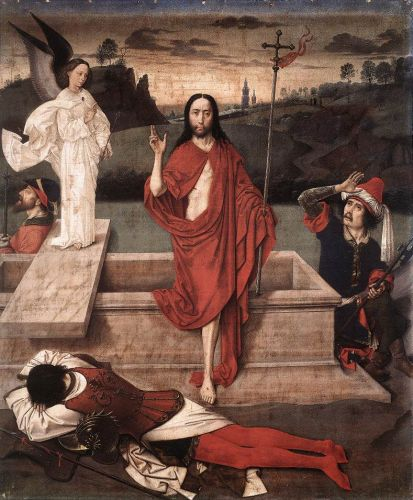 Resurrection by Dieric the Elder Bouts