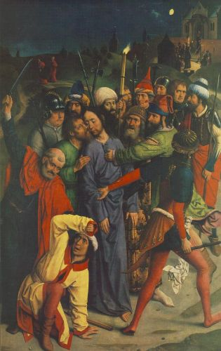 The Capture of Christ by Dieric the Elder Bouts