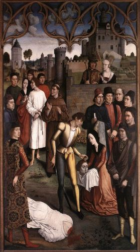 The Execution of the Innocent Count by Dieric the Elder Bouts