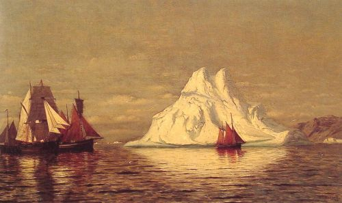 Ships and Iceberg by William Bradford