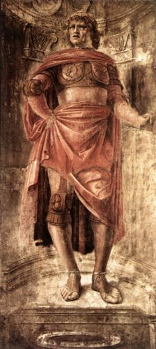 Man with a Broadsword by Donato Bramante
