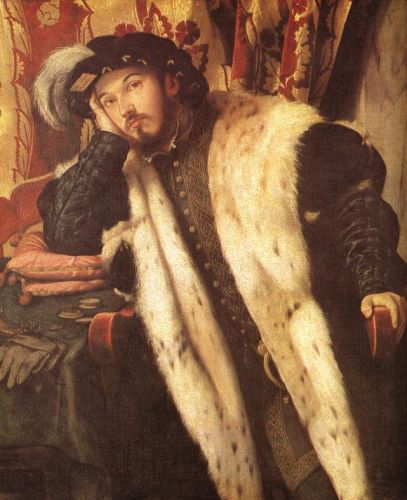 Count Sciarra Martinengo Cesaresco by Moretto da Brescia
