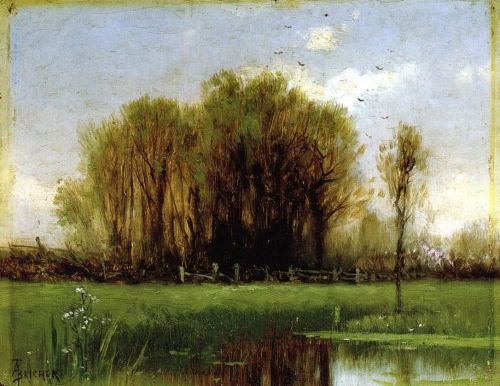 Landscape with Water by Alfred Thompson Bricher
