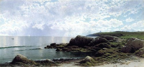 Low Tide at Yellow Gail Cove by Alfred Thompson Bricher