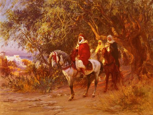 The Return by Frederick Arthur Bridgman
