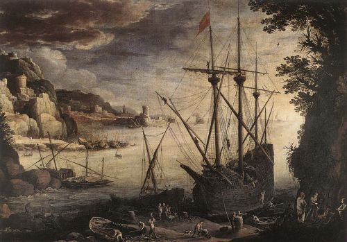The Port by Paul Bril