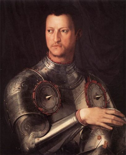 Cosimo I de' Medici in Armour by Agnolo Bronzino