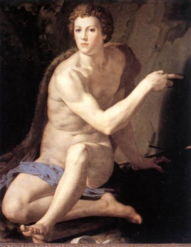 St John the Baptist by Agnolo Bronzino