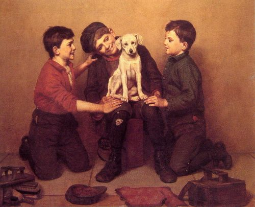 The Foundling by John George Brown