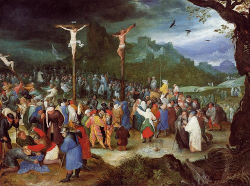 The Crucifixion by Jan the Elder Bruegel