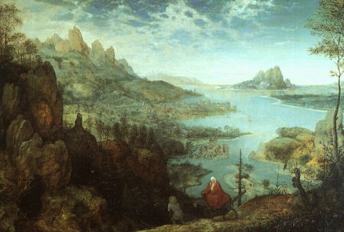 Landscape with the Flight into Egypt by Pieter the Elder Bruegel