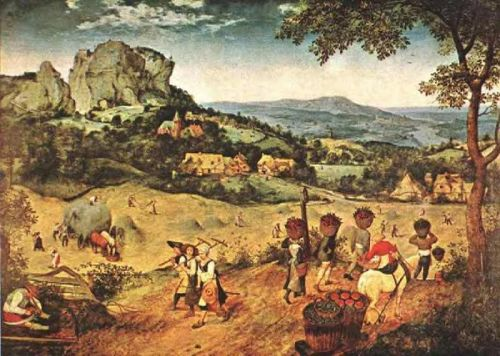 The Hay Harvest by Pieter the Elder Bruegel