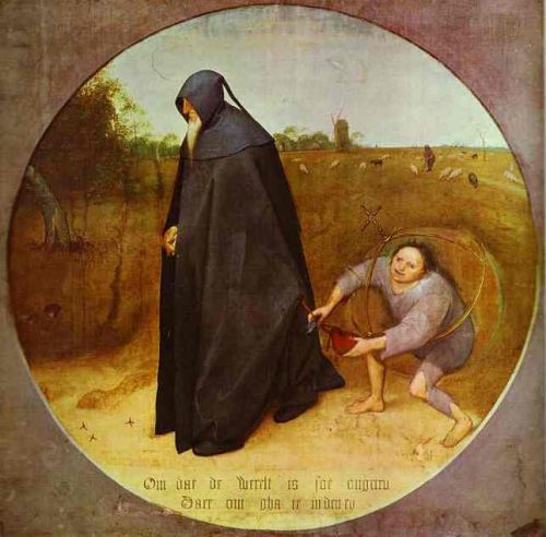 The Misanthrope by Pieter the Elder Bruegel