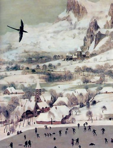 Winter Scene by Pieter the Elder Bruegel