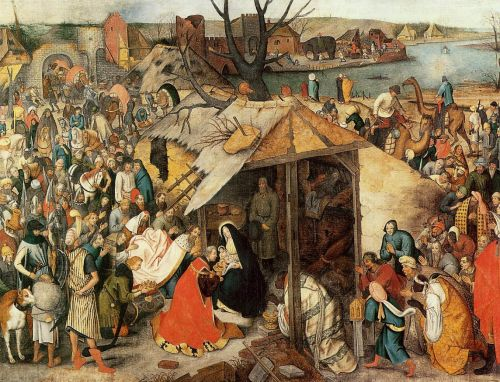 Adoration of the Magi by Pieter the Younger Bruegel