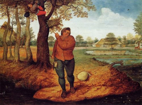The Beater by Pieter the Younger Bruegel