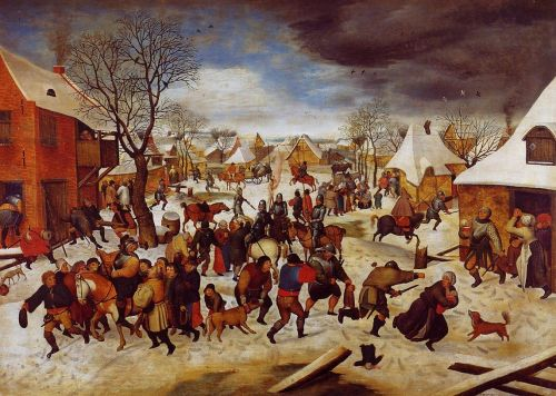 The Massacre of the Innocents by Pieter the Younger Bruegel