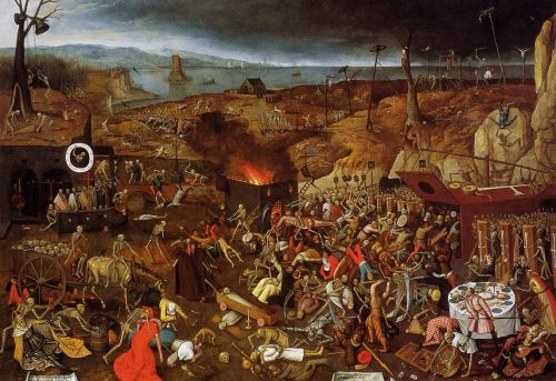 The Triumph of Death by Pieter the Younger Bruegel