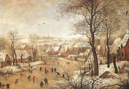 Winter Landscape with a Bird-trap by Pieter the Younger Bruegel