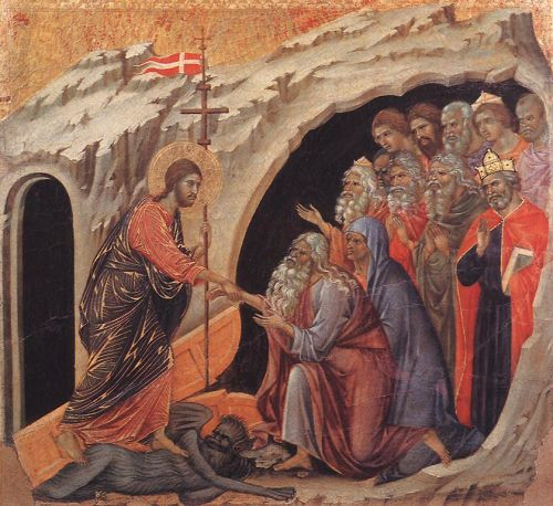 Descent to Hell by Duccio di Buoninsegna