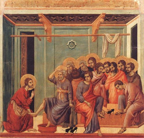Washing of the Feet by Duccio di Buoninsegna