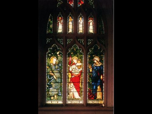 Faith, Hope and Charity by Edward Coley Burne-Jones