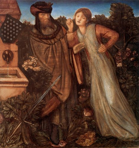 King Mark and La Belle Iseult by Edward Coley Burne-Jones