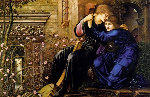 Love Among the Ruins by Edward Coley Burne-Jones
