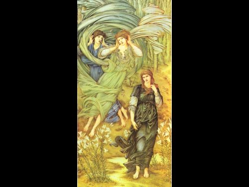 The Bride of Lebanon by Edward Coley Burne-Jones