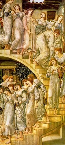 The Golden Stairs by Edward Coley Burne-Jones