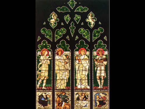 The Vyner memorial window by Edward Coley Burne-Jones