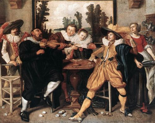 Merry Company by Willem Pieterszoon Buytewech