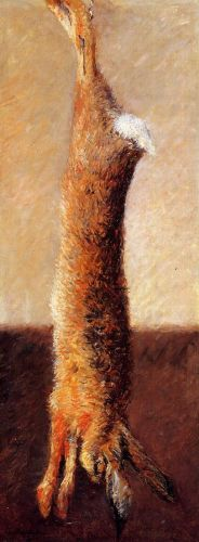 Hare by Gustave Caillebotte