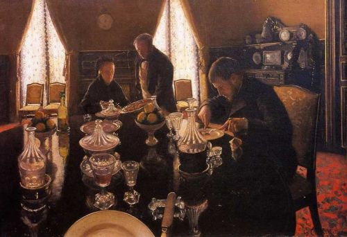 Luncheon by Gustave Caillebotte