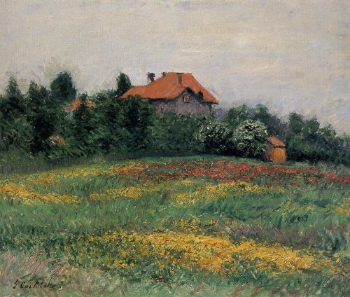 Norman Landscape by Gustave Caillebotte