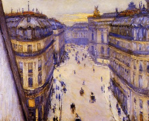 Rue Halevy, Seen from the Sixth Floor by Gustave Caillebotte