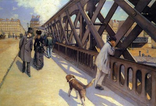 The Pont du Europe by Gustave Caillebotte
