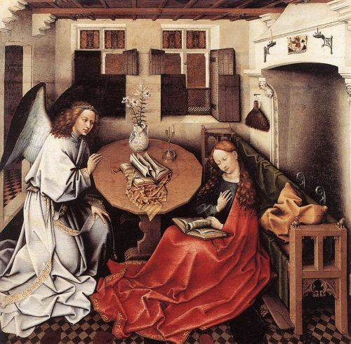 Annunciation by Robert Campin