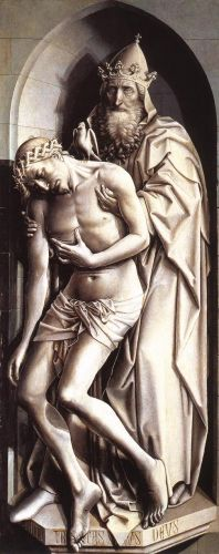 The Holy Trinity by Robert Campin
