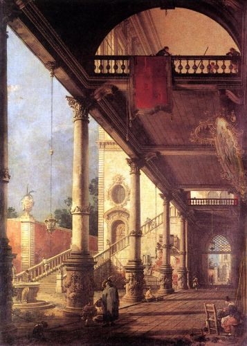 Perspective by Giovanni Antonio Canaletto
