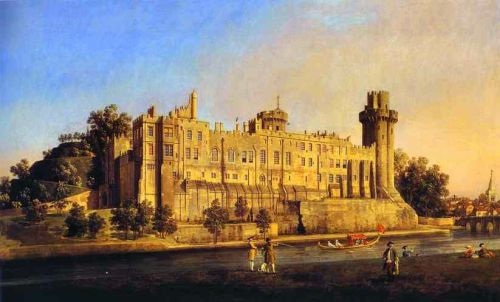 Warwick Castle by Giovanni Antonio Canaletto