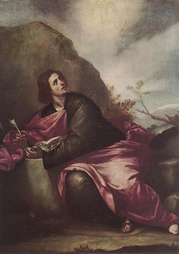 St John the Evangelist on Pathmos by Alonso Cano