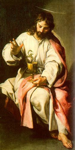 St John the Evangelist with the Poisoned Cup by Alonso Cano